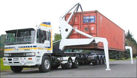 Container removals to Spain