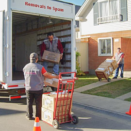 Removals to Spain from UK